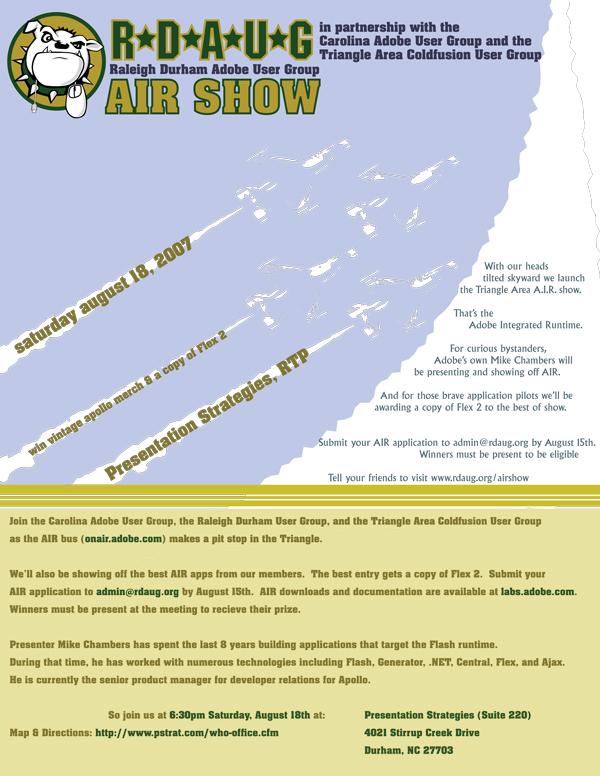 RDAUG AIR Show